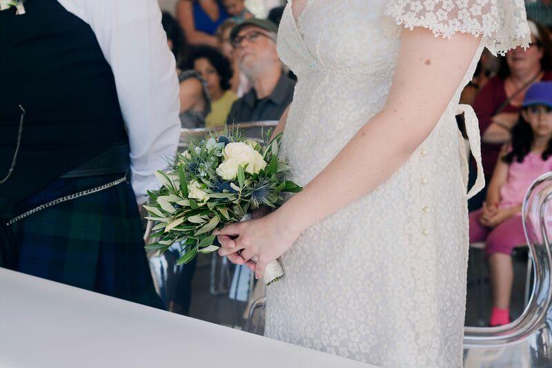 bouquet de mariage bleu  fleur par nature montpellier