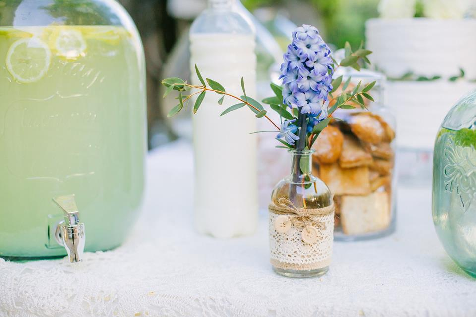fleurs bleu de mariage  fleur par nature montpellier