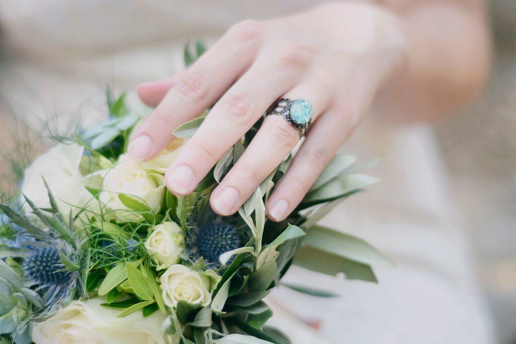 bouquet bague mariage  fleur par nature montpellier