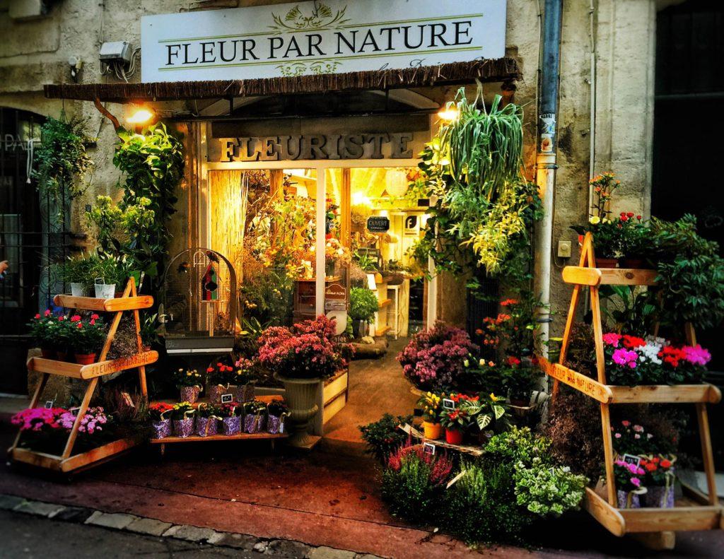 devanture Boutiques fleur benjamin jean fleuriste montpellier