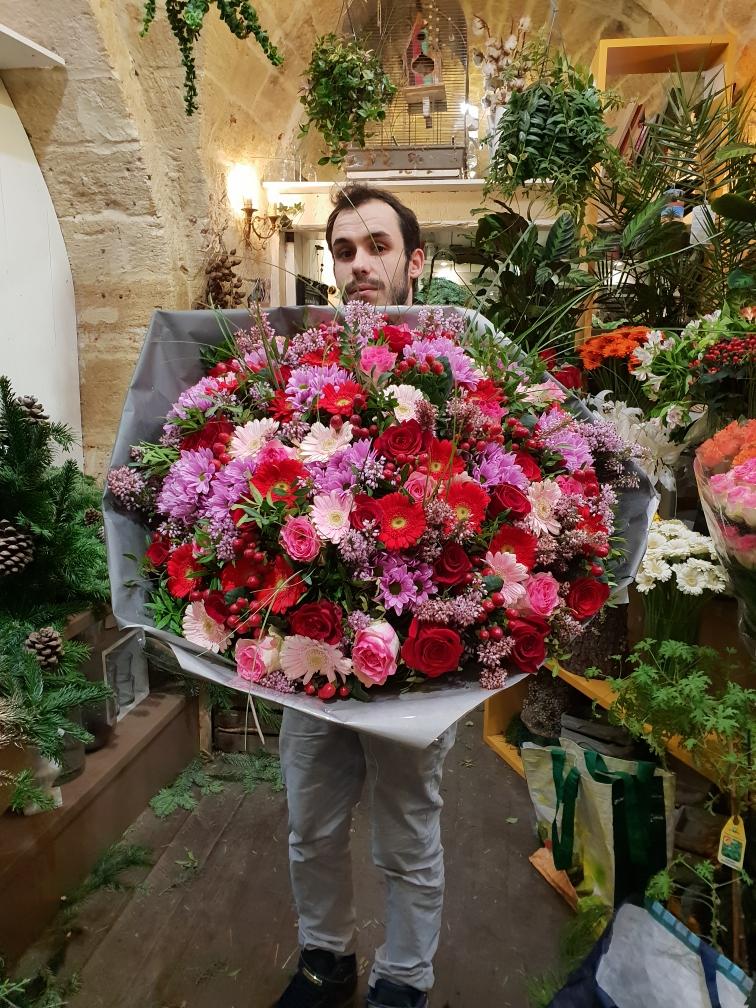 fleuriste+montpellier+fleur par nature+ livraison+mariage+bouquet+domicile+jean 34