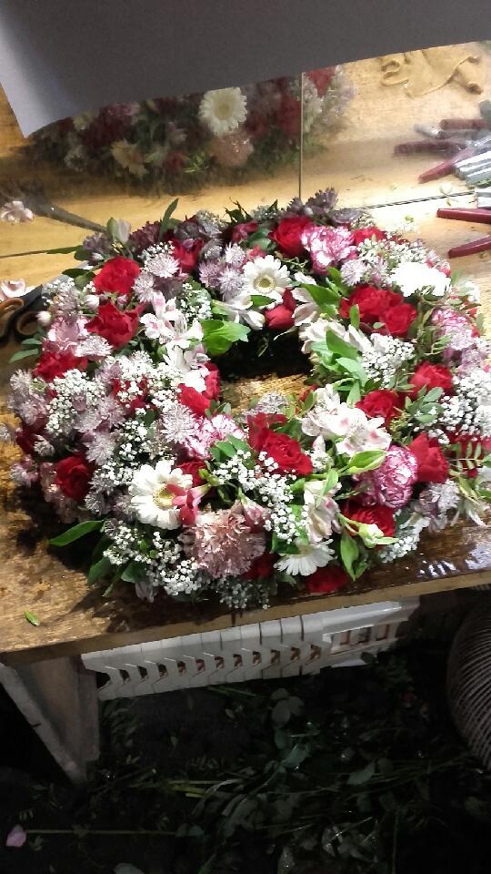 couronne champetre deuil fleur par nature montpellier