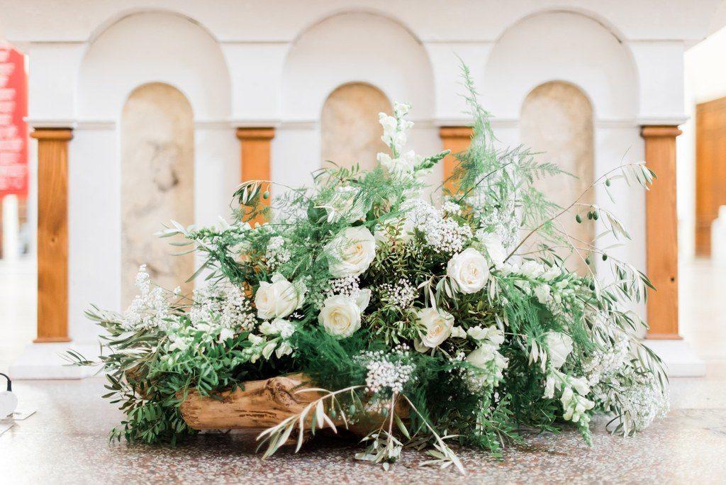 autel de mariage  fleur par nature montpellier