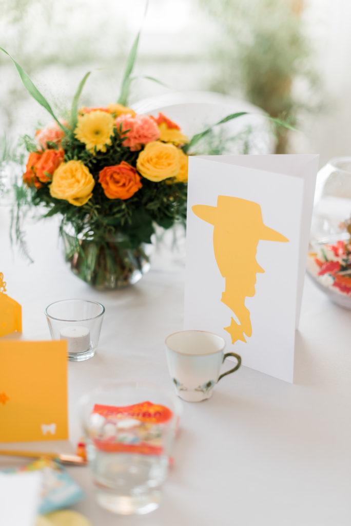 centre de table jaune de mariage  fleur par nature montpellier