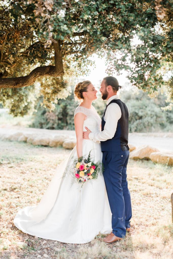 bouquet coloré de mariage  fleur par nature montpellier