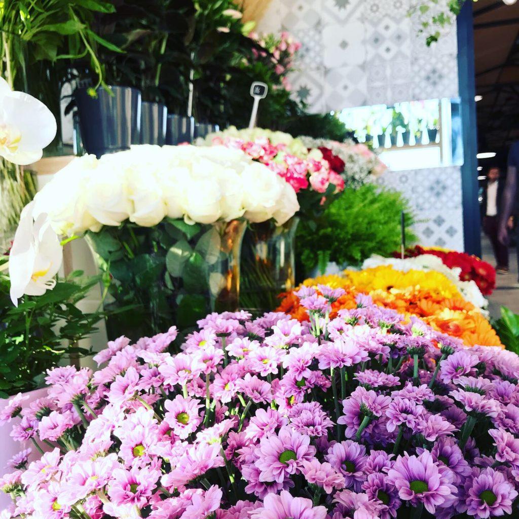 bouquet de fleur halle plaza rambla des xcalissons Boutiques fleur benjamin jean fleuriste montpellier