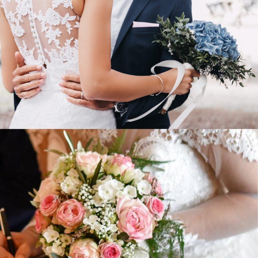 bouquet de mariée du fleuriste  fleur par nature montpellier