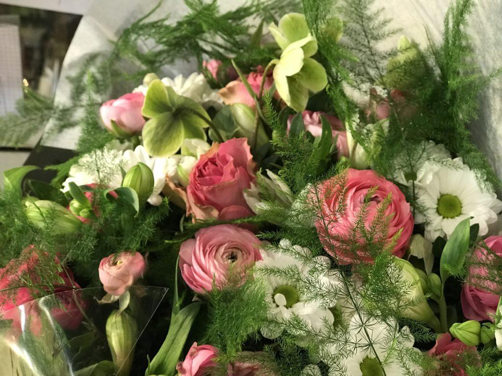 bouquet accueil Abonnement professionnel événementiel montpellier fleuriste
