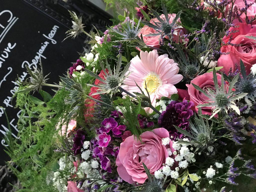 bouquet prune deuil fleur par nature montpellier