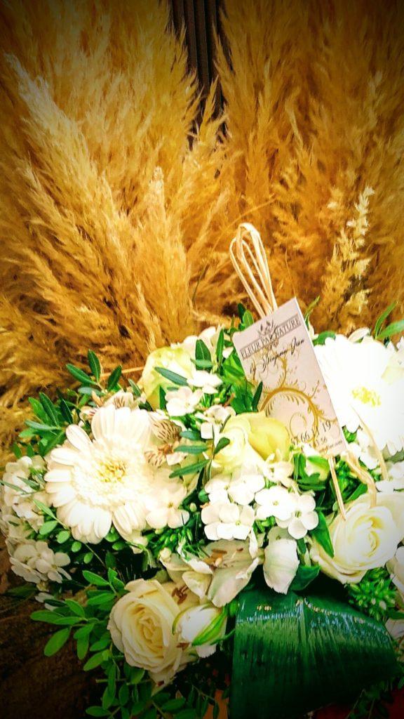 bouquet pastel deuil fleur par nature montpellier